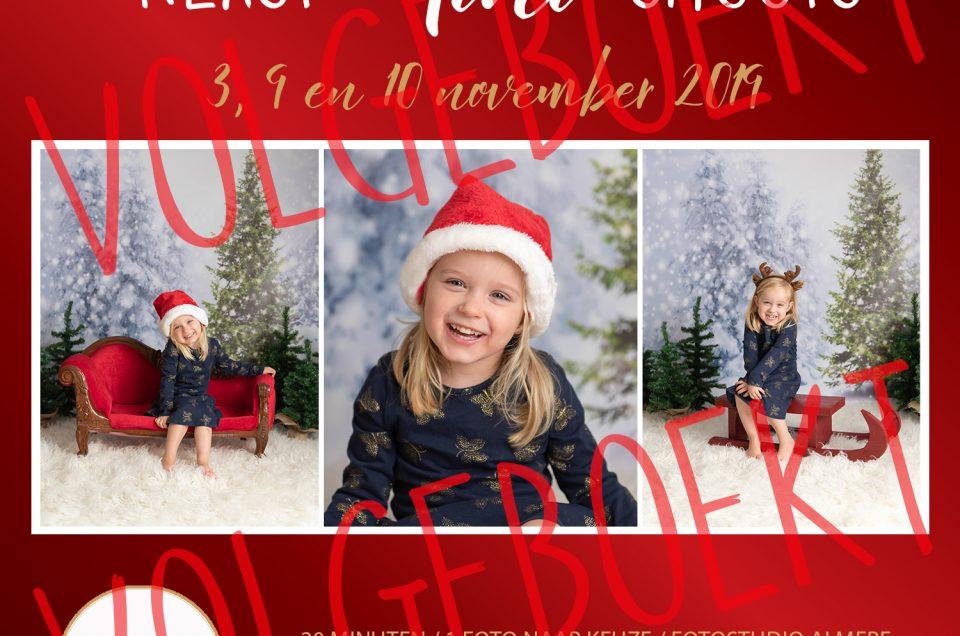 RESERVEER NU: kerst mini fotoshoots