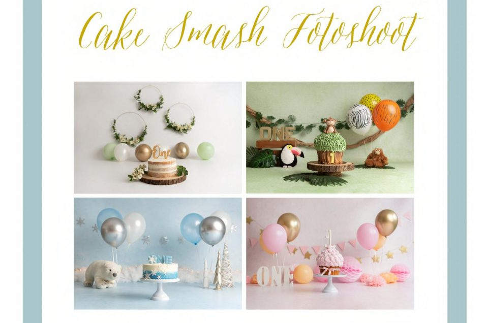 LookBook || Cake Smash Fotoshoot